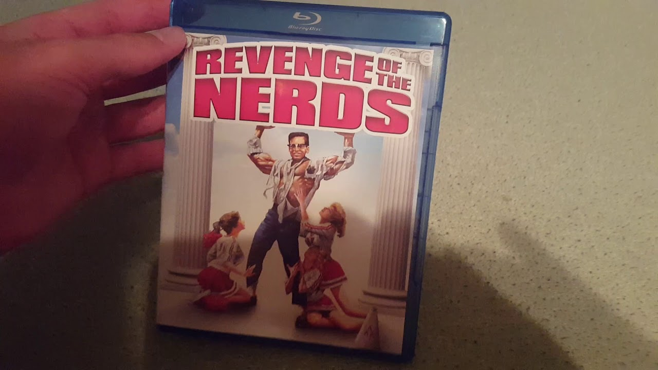 Download Revenge of the Nerds (1984) blu ray unboxing
