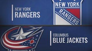 Коламбус vs Рейнджерс | NY Rangers at Columbus Blue Jackets | NHL HIGHLIGHTS | НХЛ ОБЗОР МАТЧА