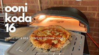 Ooni Koda 16 - Unboxing \u0026 First Real Time Cook!