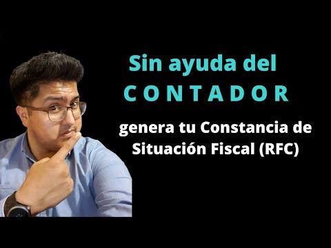 Constancia de situación fiscal sin ayuda de un contador!!! | Descarga tu RFC del SAT. | Utilidad 2Kaynak: YouTube · Süre: 3 dakika58 saniye