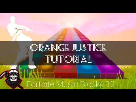Orange Justice TUTORIAL (Fortnite Music Blocks 12) thumbnail