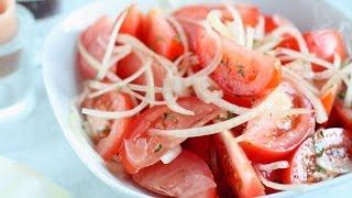 Салат из помидоров от Джейми Оливера