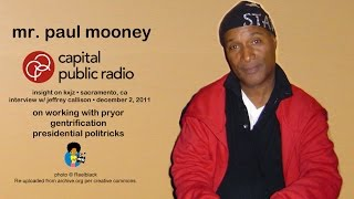 Mr. Paul Mooney on Presidential Politricks