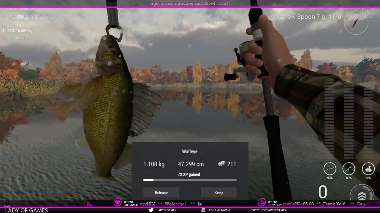 Fishing Planet - New York: Walleye