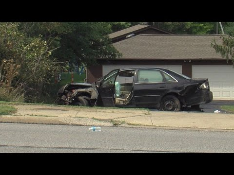 Crash, bizarre circumstances lead to stand off in Parma