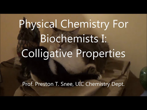 Lecture36- Colligative Properties