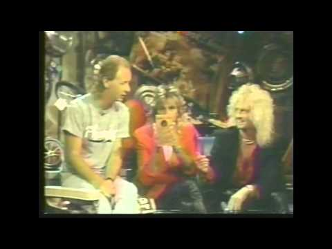 Judas Priest Host Headbangers Ball 1987
