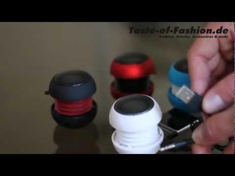 Mini Lautsprecher Box iPhone 5 iPad iPod MP3 | Taste of Fashion de