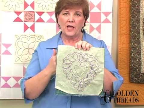 Marking Quilting Designs On Your Top : Marking quilting designs on your top - YouTube