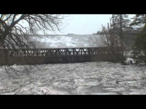 Raw: Northern New England in Deep Freeze