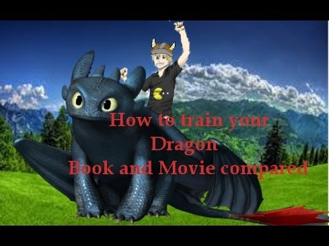 How to Train your Dragon Book and Movie Compared  YouTube