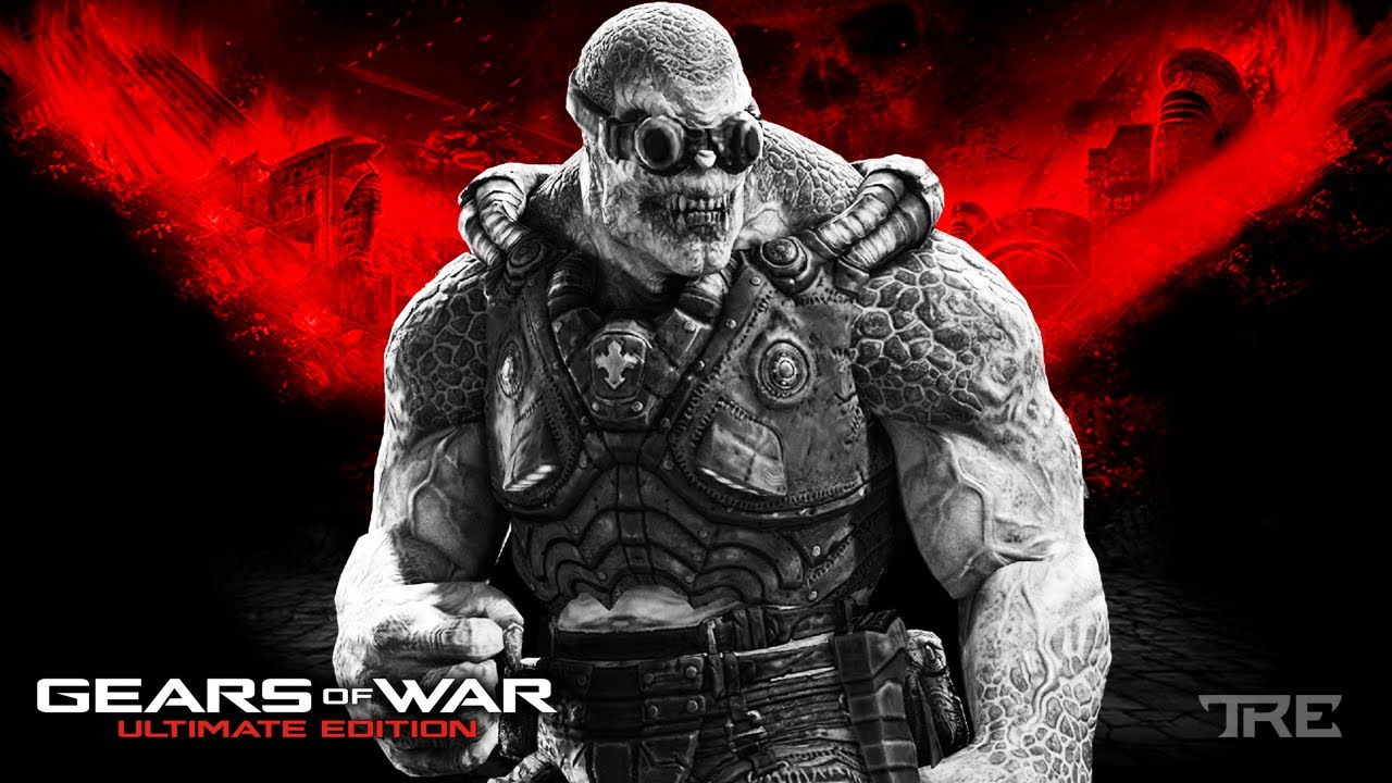Playing GEARS OF WAR: ULTIMATE EDITION on XBOX ONE in 2020