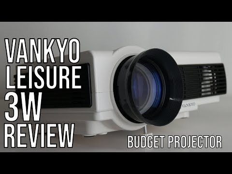 VANKYO Leisure 3W Mini Projector Review | Best $100 Affordable HQ Projector :?