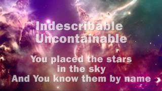 Indescribable Instrumental with Lyrics