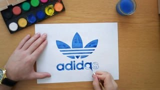 Video How to draw the Adidas logo - Adidas Originals download MP3, 3GP, MP4, WEBM, AVI, FLV Agustus 2018