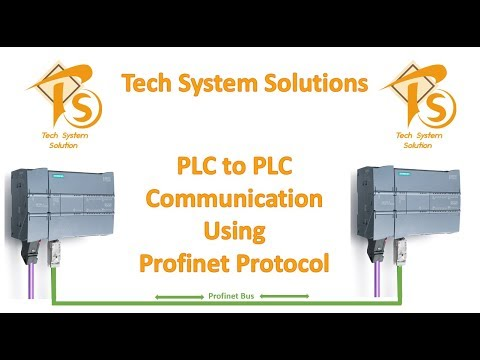 PLC to PLC communication l Siemens Profinet: comunication S7, function PUT  / GET