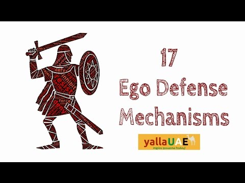 17 Ego Defense Mechanisms used at Work