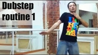 Обучающее видео dubstep (tutorial) - Routine 1 from Dragon