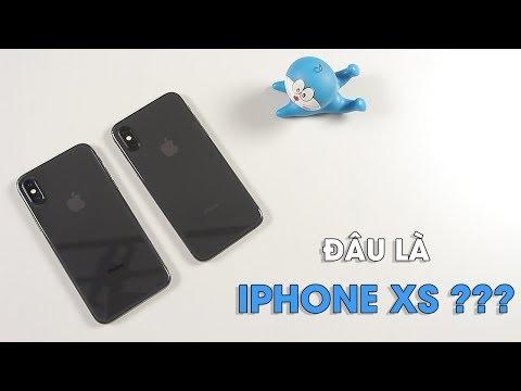 Trên tay đánh giá nhanh iPhone XS - So sánh với iPhone X