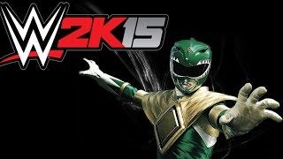 WWE 2K15 / Beyaz Ranger vs Yeşil Ranger! (CaRtOoNz vs H2O Delirious)