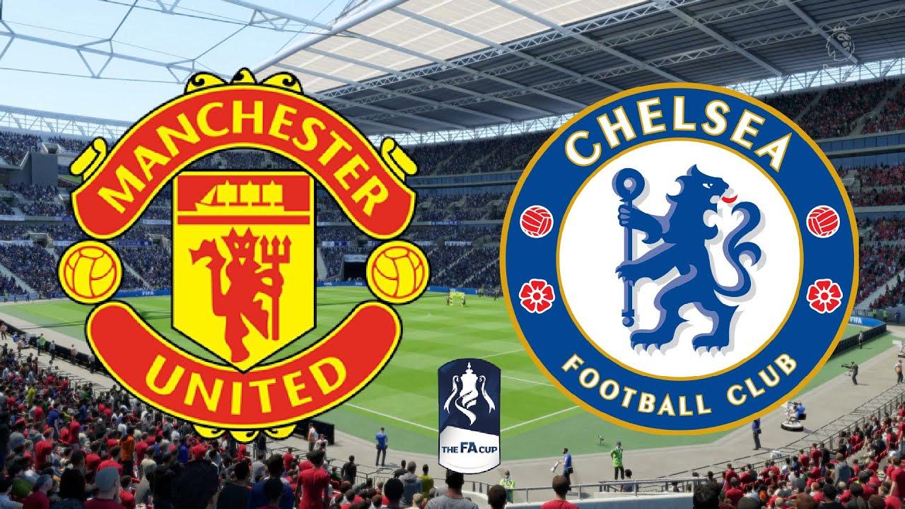 FA Cup 2020 Semi Final - Manchester United Vs Chelsea - 18/07/20 ...