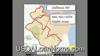 Changes In Southern Maryland Loan Program USDA Rural Development Loans