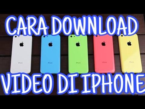 Cara Mudah Download Video Di Iphone Tanpa Jailbreak Dan PC