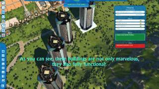 Cities XL Custom Content - The XLN Supertowers.wmv