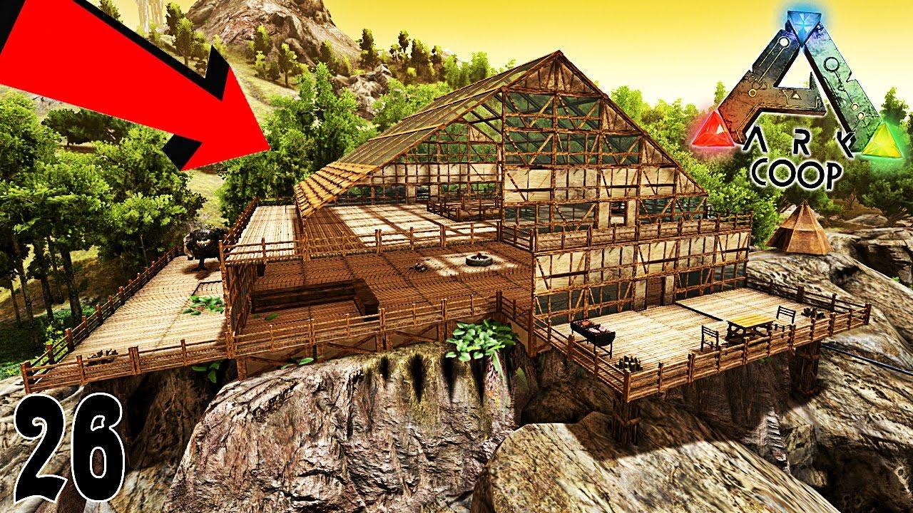 On agrandit la maison ark coop primitive plus ep26 for Aventures de maison