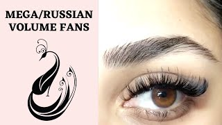 How to Make Mega or Russian Volume Fans?