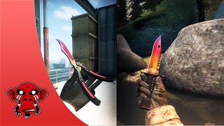 Item Showcase 2 Butterfly Fade FN And M9 Bayonet Fade FN