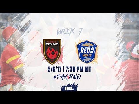 USL LIVE - Phoenix Rising FC vs Reno 1868 FC 5/6/17