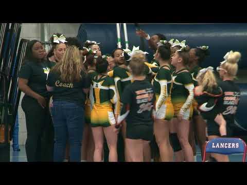 Stonington High School at 2018 ECC Cheerleading Championship