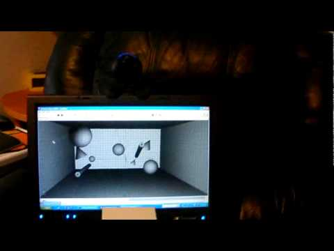 Pcl head tracking with webcam