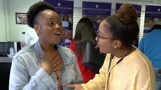 Jubilation as students find out A-level results