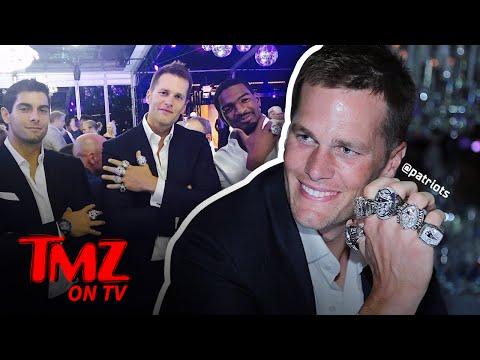 Tom Brady – A Fistful of Rings! | TMZ TV