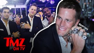 Tom Brady – A Fistful of Rings!   TMZ TV