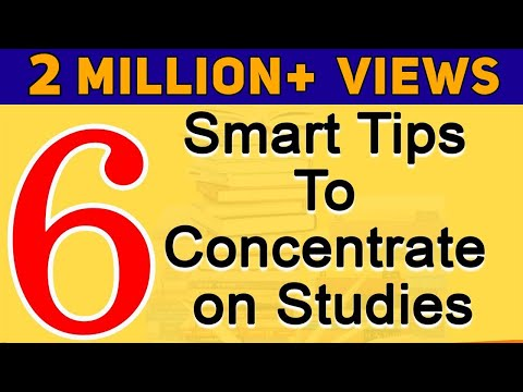 How to Concentrate on Studies? | Smart Tips to Concentrate on Studies | Exam Tips | LetsTute