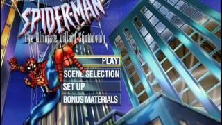 Spiderman Tas 2005 DVD menu