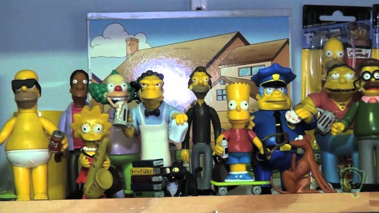 The Simpsons Toys Youtube