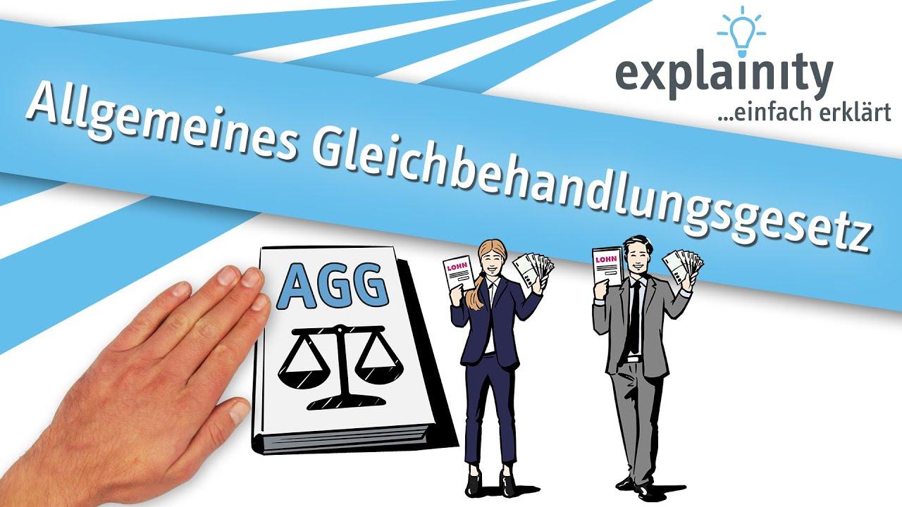 Download Allgemeines Gleichbehandlungsgesetz (AGG) einfach erklärt (explainity® Erklärvideo)