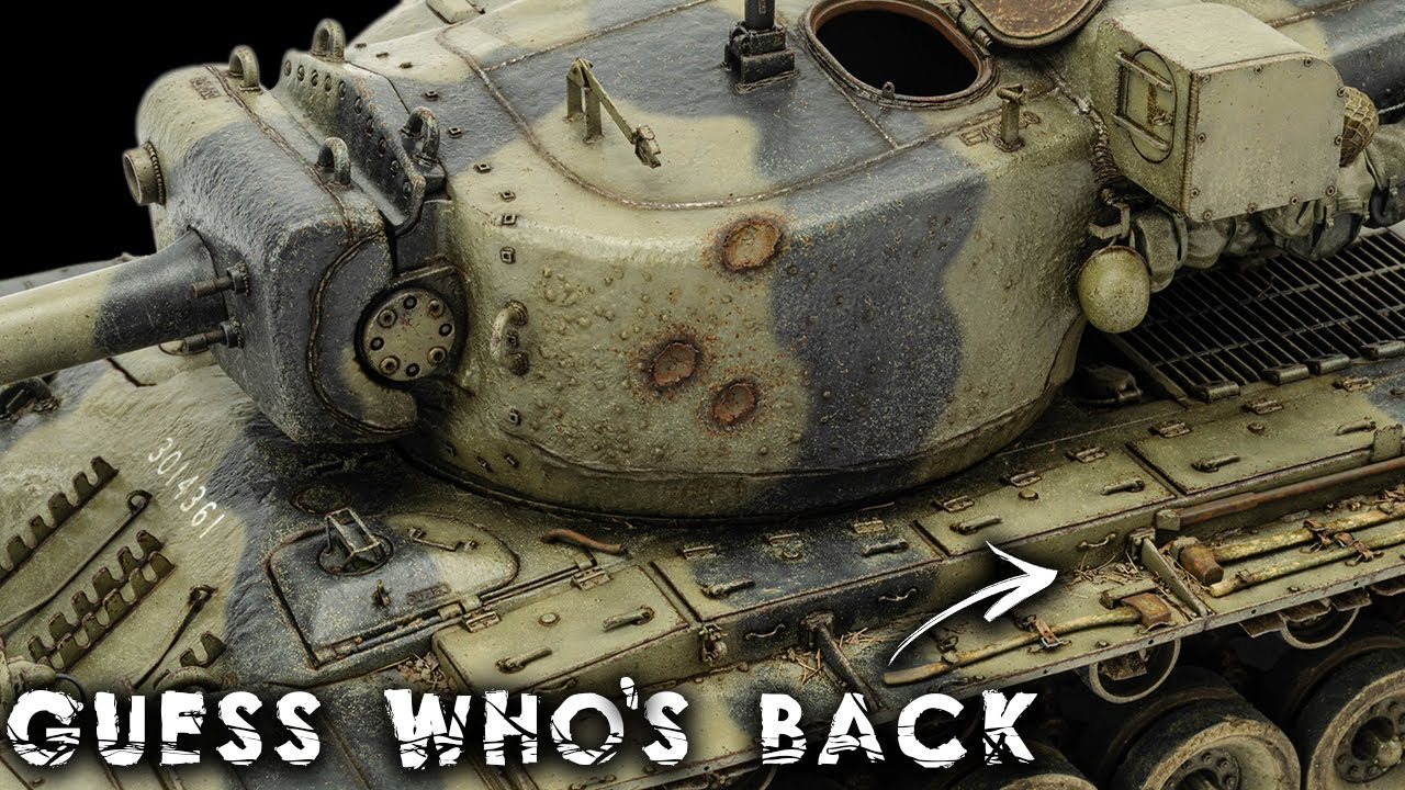 Real Dirt Is Back! With A Satisfying Round Of Pinwashes   T29E3 Weathering