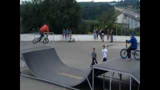 Bmx Rider In Kaluga....(by Klad Ilya)
