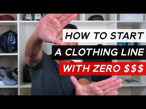 how-to-start-a-clothing-line-with-no-money-for-products
