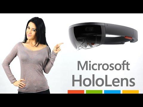 Microsoft HOLOLENS: Las Gafas Holograficas del Futuro (en Español)