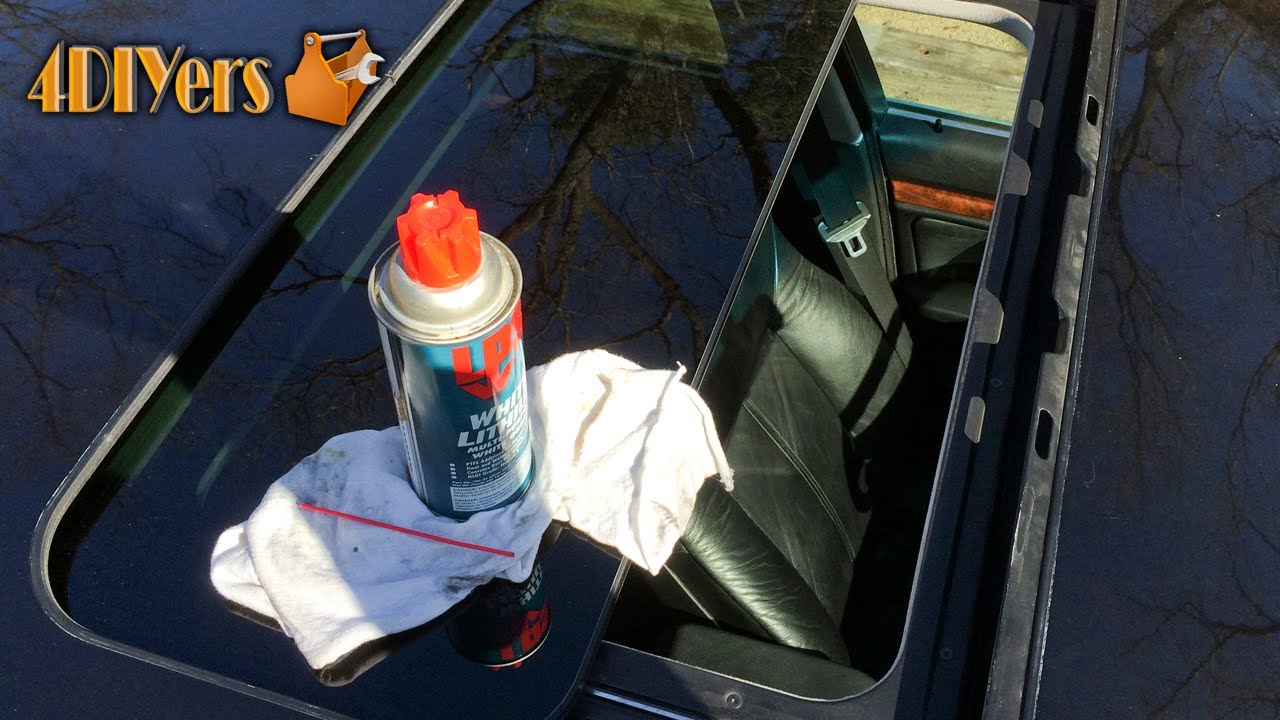 hight resolution of how to maintain your sunroof tips