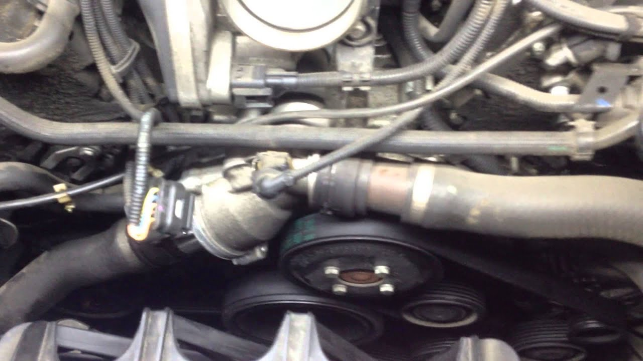 symptoms of a bad water pump car used is a bmw e65 e66 [ 1280 x 720 Pixel ]