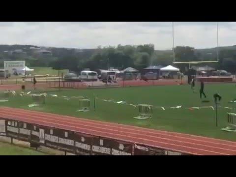 Reicher Catholic High School Track 4x100 District Win