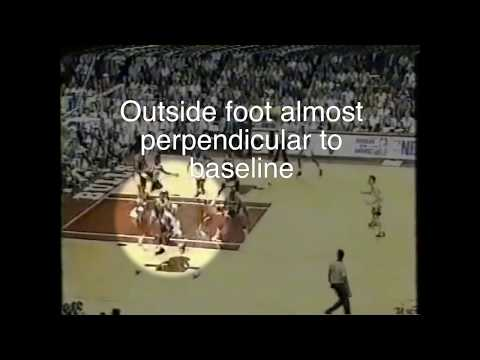 Michael Jordan Post Moves - Baseline Turn