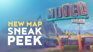 NEW MAP SNEAK PEEK! (Fortnite Battle Royale)